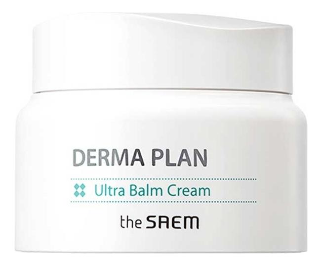 Крем-бальзам для чувствительной кожи Derma Plan Ultra Balm Cream 60мл крем для лица успокаивающий the saem derma plan green calming cream 70 мл