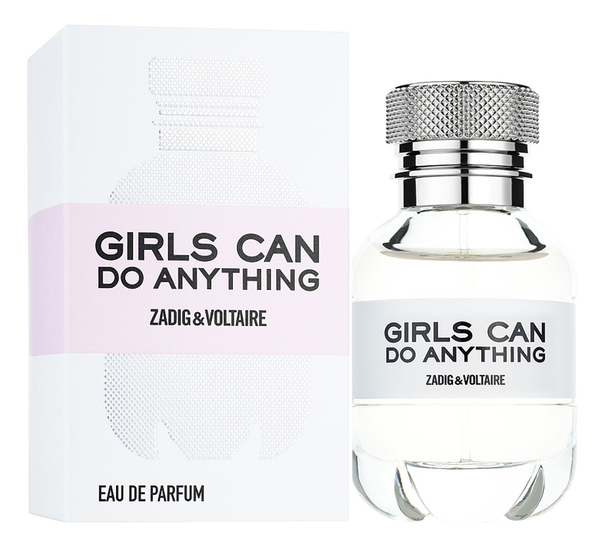 Zadig & Voltaire Girls Can Do Anything: парфюмерная вода 90мл сумка zadig