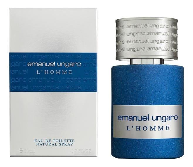 Emanuel Ungaro L'Homme: туалетная вода 50мл