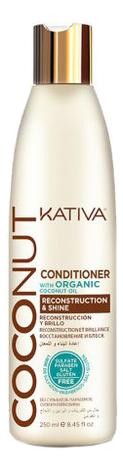 Фото - Восстанавливающий кондиционер для волос Coconut Conditioner: Кондиционер 250мл gosh coconut oil conditioner