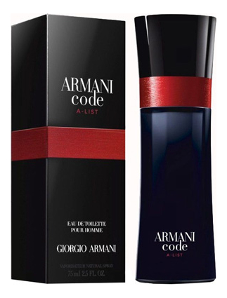 Armani Code A-List: туалетная вода 75мл