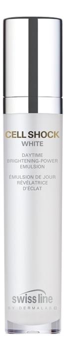 Осветляющая эмульсия для лица Cell Shock White Facial Daytime Brightening-Power Emulsion 50мл mbr cell power neck