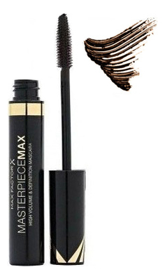 Тушь для ресниц Masterpiece Max High Volume & Definition Mascara 7,2мл: Black Brown тушь для ресниц volume infusion mascara biotin keratin black brown