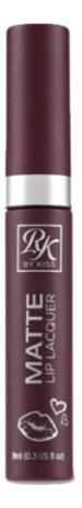 Матовый лак для губ Matte Lip Lacquer 9мл: Rosy RML10 yadah лак для губ be my lip lacquer 02 chili red