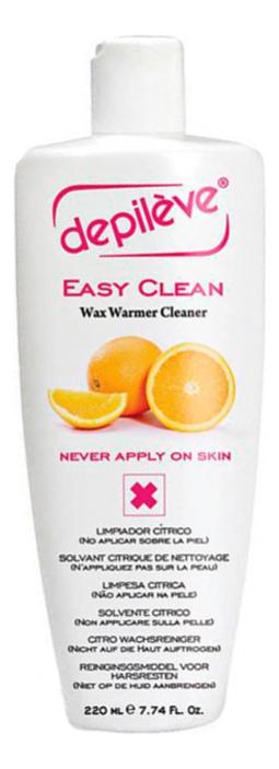 Средство для очистки аппаратов от воска цитрусовый Easy Clean: Средство 220мл