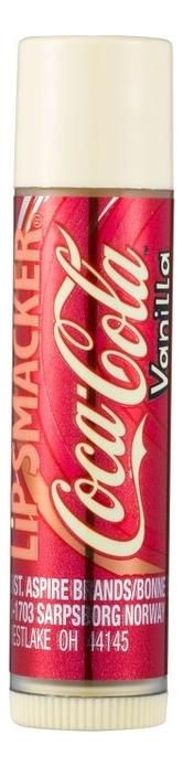 Бальзам для губ Coca Cola Lip Balm Vanilla 4г (ваниль) lip smacker бальзам для губ sprite
