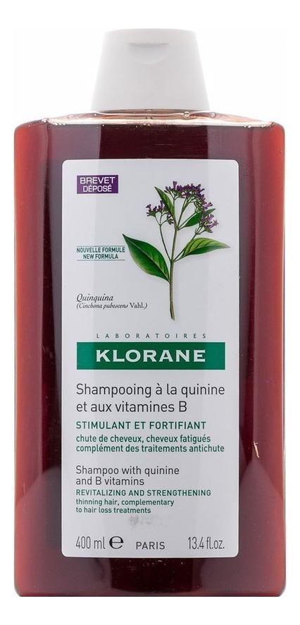 Укрепляющий шампунь для волос с экстрактом хинина Thinning Hair 400мл: Шампунь 400мл klorane шампунь с экстрактом хинина укрепляющий 200 мл