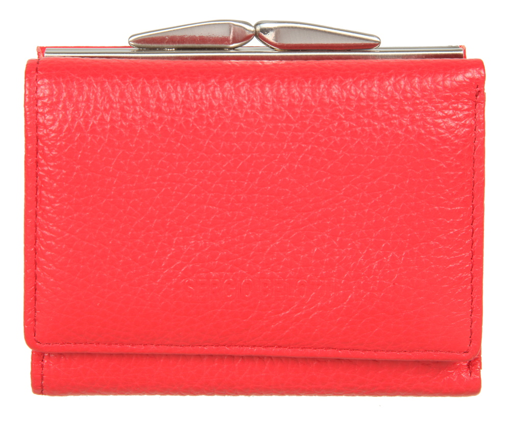 Кошелек Livorno Red 1527 coin purse sergio belotti 3118 livorno pink