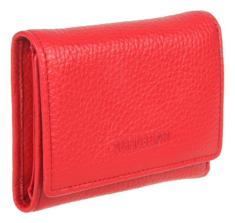 Портмоне Livorno Red 3118 (красное) coin purse sergio belotti 3118 livorno pink