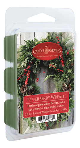 Наполнитель для воскоплавов Pepperberry Wreath Wax Melts 70,9г наполнитель для воскоплавов serene woods wax melts 70 9г