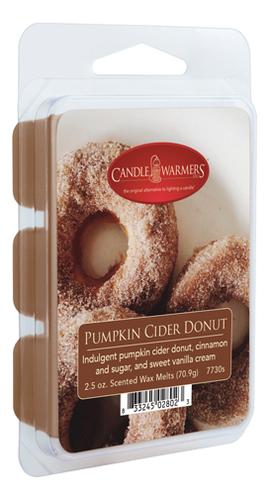 Наполнитель для воскоплавов Pumpkin Cider Donut Wax Melts 70,9г наполнитель для воскоплавов serene woods wax melts 70 9г