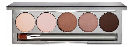 Палетка минеральных теней для век и бровей Eye & Brow Palette 9,5г ysl brow palette