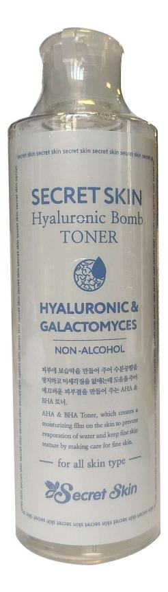 Увлажняющий тонер с гиалуроновой кислотой Hyaluronic Bomb Toner 250мл тонер для лица с гиалуроновой кислотой hyaluronic acid gel toner 15г