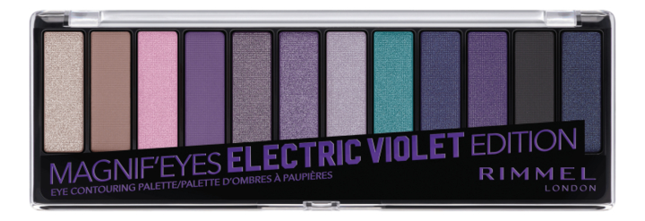 Фото - Палетка теней Magnif'Eyes Edition 14г: 008 Electric violet rimmel палетка теней