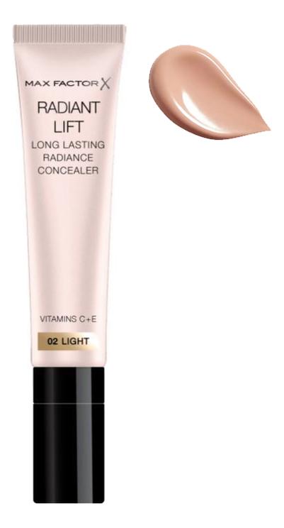 Консилер для лица Radiant Lift Concealer 7мл: 02 Light кремовый консилер для лица vibrant skin concealer 7мл 02 light