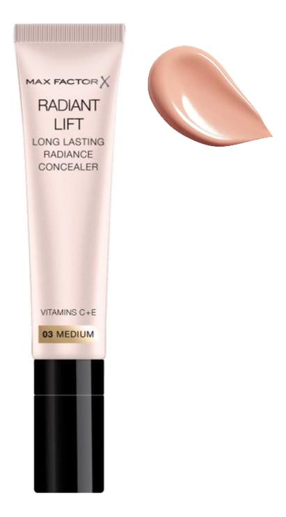 Консилер для лица Radiant Lift Concealer 7мл: 03 Medium кремовый консилер для лица vibrant skin concealer 7мл 03 medium