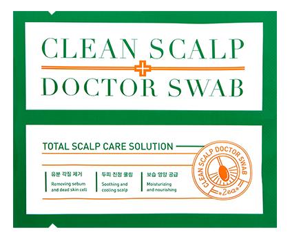 Пилинг для кожи головы Clean Scalp Doctor Swab 10мл