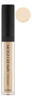 Консилер кремовый увлажняющий Moist Creamy Concealer SPF30 PA++ 7г: 02 Vanilla a pieu консилер moist creamy concealer оттенок 04 beige