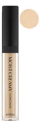 Консилер кремовый увлажняющий Moist Creamy Concealer SPF30 PA++ 7г: 04 Natural a pieu консилер moist creamy concealer оттенок 04 beige