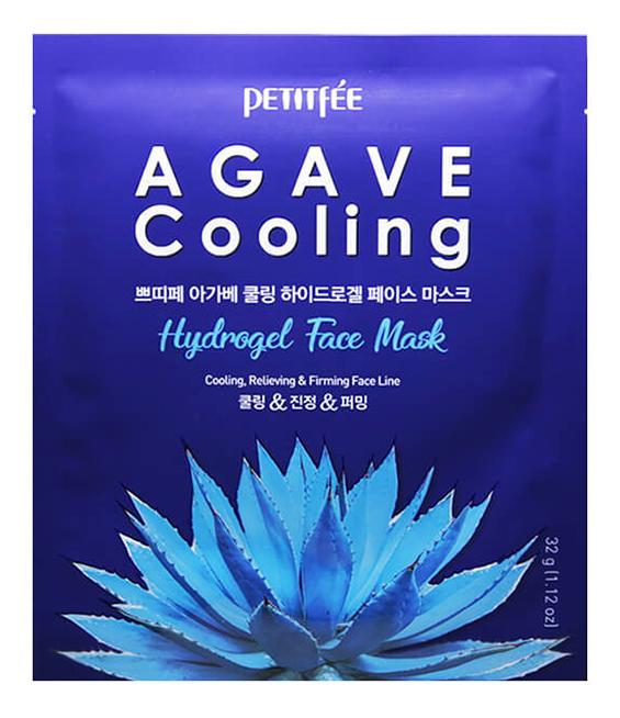 Охлаждающая гидрогелевая маска с экстрактом агавы Agave Cooling Hydrogel Face Mask: Маска 32г
