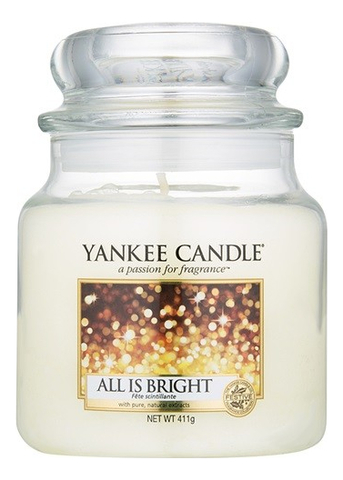 Ароматическая свеча All Is Bright: Свеча 411г ароматическая свеча moonlit blossoms свеча 411г