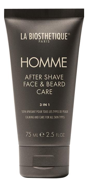 Ревитализирующая эмульсия для лица и бороды Homme After Shave Face & Beard Care 75мл ревитализирующая эмульсия skin youth formula trend edition