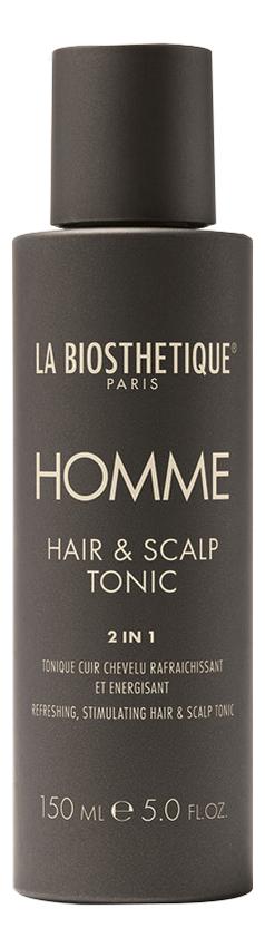 Стимулирующий тоник для кожи головы Homme Hair & Scalp Tonic 150мл успокаивающий тоник для кожи головы semi di lino scalp relief sensitive skin calming tonic 125мл