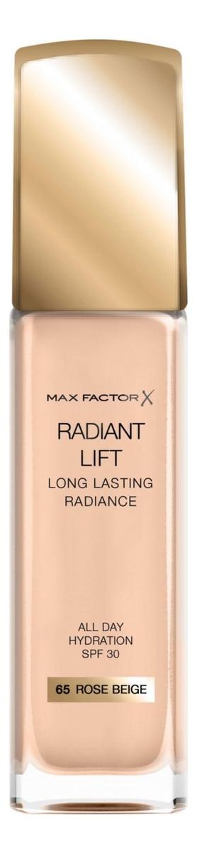 Тональная основа Radiant Lift Long Lasting Radiance 30мл: 65 Rose Beige clarins 751 tea rose