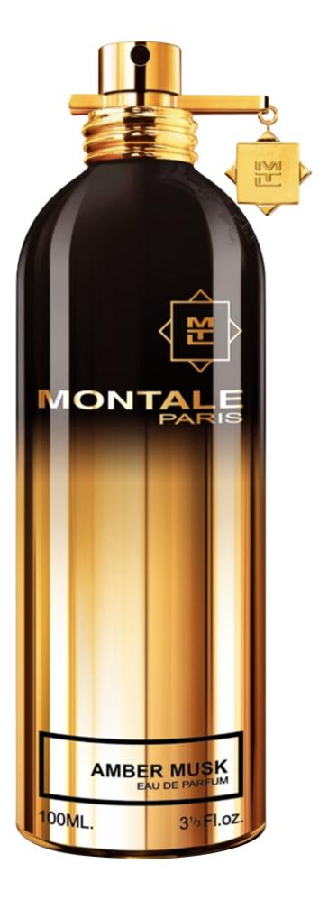 Montale Amber Musk: парфюмерная вода 100мл тестер montale aoud sense туалетные духи тестер 100 мл