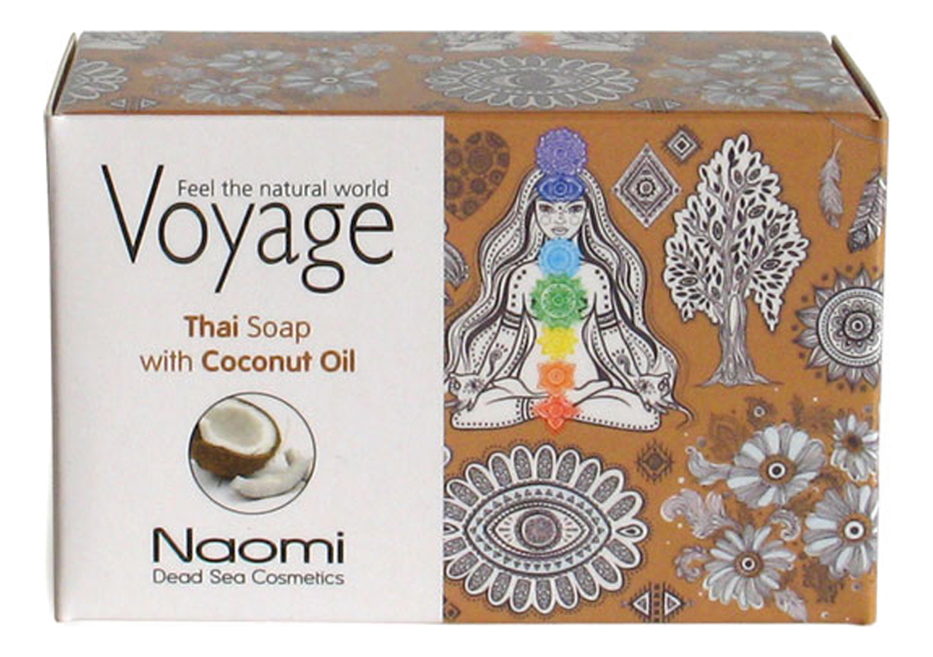 Мыло для лица, волос и тела Voyage Thai Soap With Coconut Oil 140г мыло для лица волос и тела voyage moroccan soap with argan oil 140г