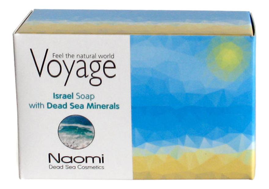 Мыло для лица и тела Voyage Israel Soap With Dead Sea Minerals 140г мыло для лица волос и тела voyage moroccan soap with argan oil 140г