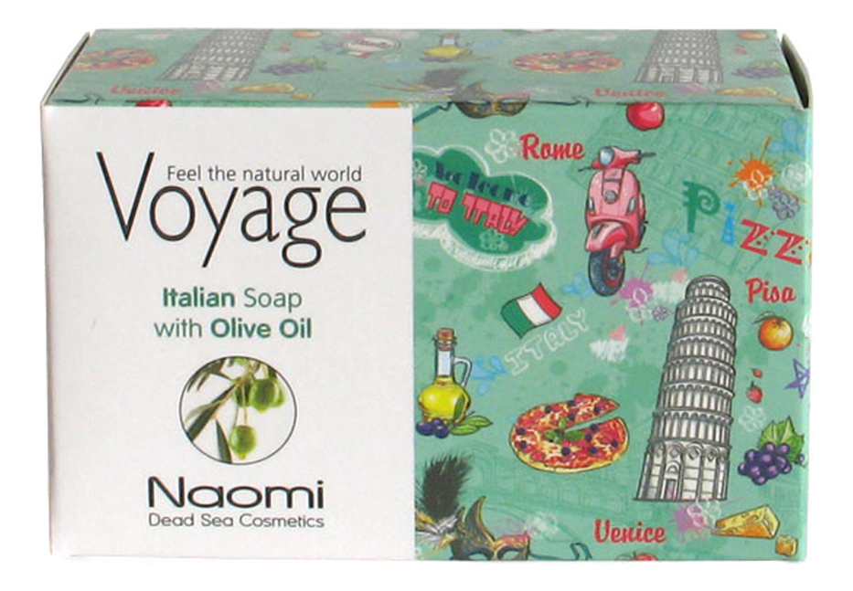 Мыло для лица и тела Voyage Italian Soap With Olive Oil 140г мыло для лица волос и тела voyage moroccan soap with argan oil 140г