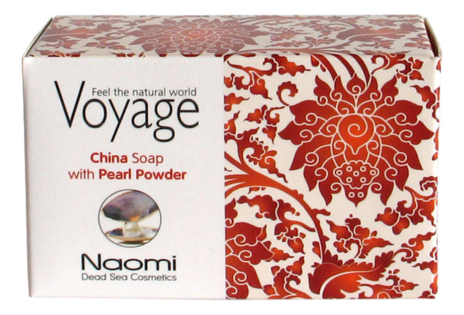 Мыло для лица и тела Voyage China Soap With Pearl Powder 140г мыло для лица волос и тела voyage moroccan soap with argan oil 140г