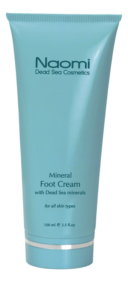Крем для ног с минералами Мертвого моря Mineral Foot Cream With Dead Sea Minerals 100мл мыло против акне с минералами мертвого моря acne soap with dead sea minerals 125г
