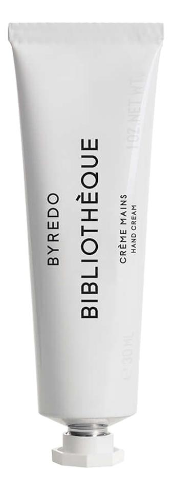 Byredo Bibliotheque: крем для рук 30мл byredo vetyver скраб для рук