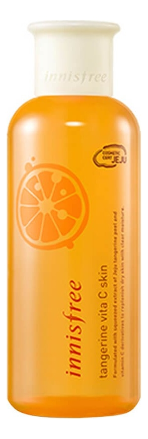 Увлажняющий тонер для лица с экстрактом мандарина Tangerine Vita C Skin 200мл innisfree тонер питательный ginger honey ampoule skin 200 мл