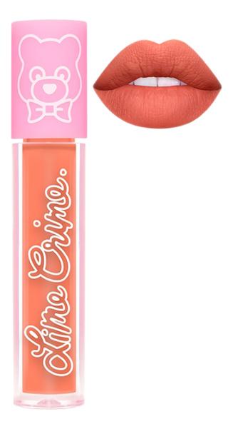 Суперлегкая матовая помада для губ Plushies 3,5мл: Melon Smoothie lime crime помада для губ lime crime plushies glow суперлегкая оттенок popsicle
