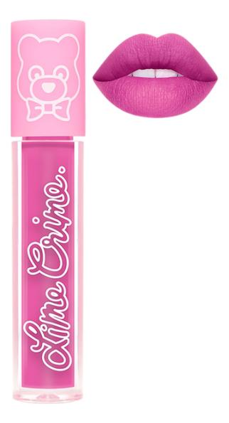 Суперлегкая матовая помада для губ Plushies 3,5мл: Violet lime crime помада для губ lime crime plushies glow суперлегкая оттенок popsicle
