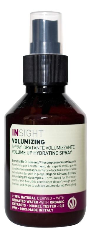 Несмываемый кондиционер-спрей для объема волос Volumizing Volume Up Hydrating Spray 100мл спрей для укладки oscar blandi спрей для объема volumizing spray объем 250 мл