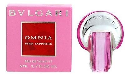 Bvlgari Omnia Pink Sapphire: туалетная вода 5мл coach for men туалетная вода 4 5мл