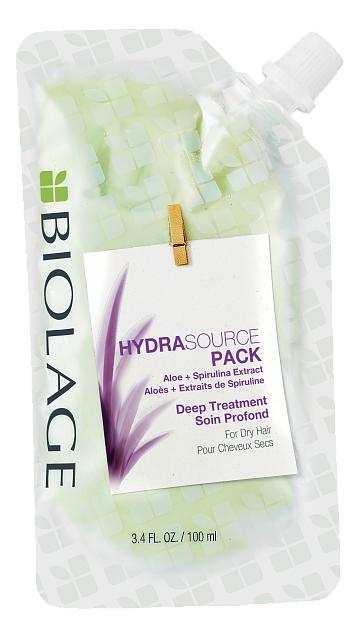 Маска для волос Biolage Deep Treatment Hydra Source Pack 100мл matrix biolage mask smoothproof pack deep treatment mask