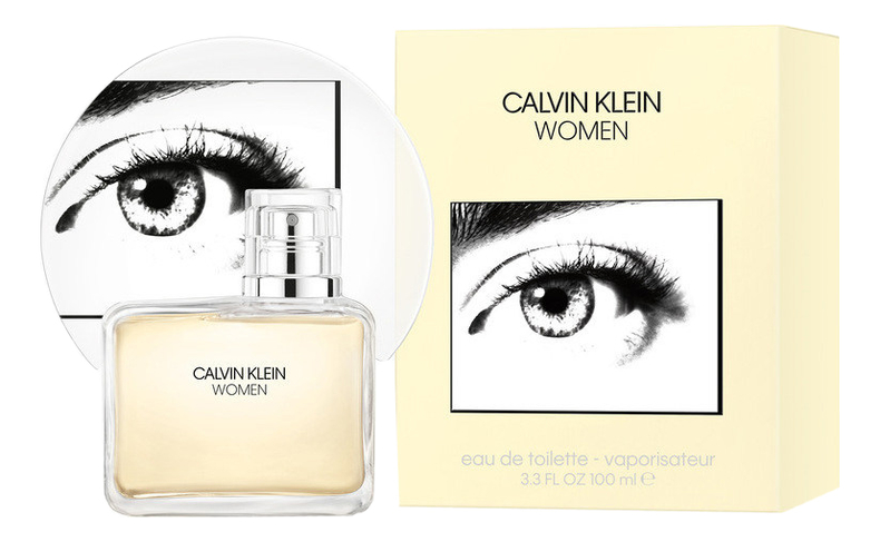 Calvin Klein Women Eau De Toilette: туалетная вода 100мл