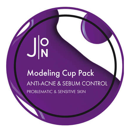 Альгинатная маска для лица Anti-Acne & Sebum Control Modeling Pack: Маска 18г