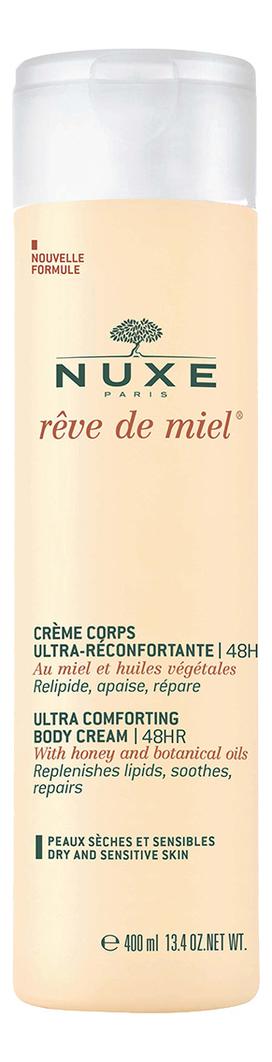 Крем для тела восстанавливающий комфорт РЭВ ДЕ МЬЕЛЬ Ultra Comfortable Body Cream: Крем 400мл автозагар крем