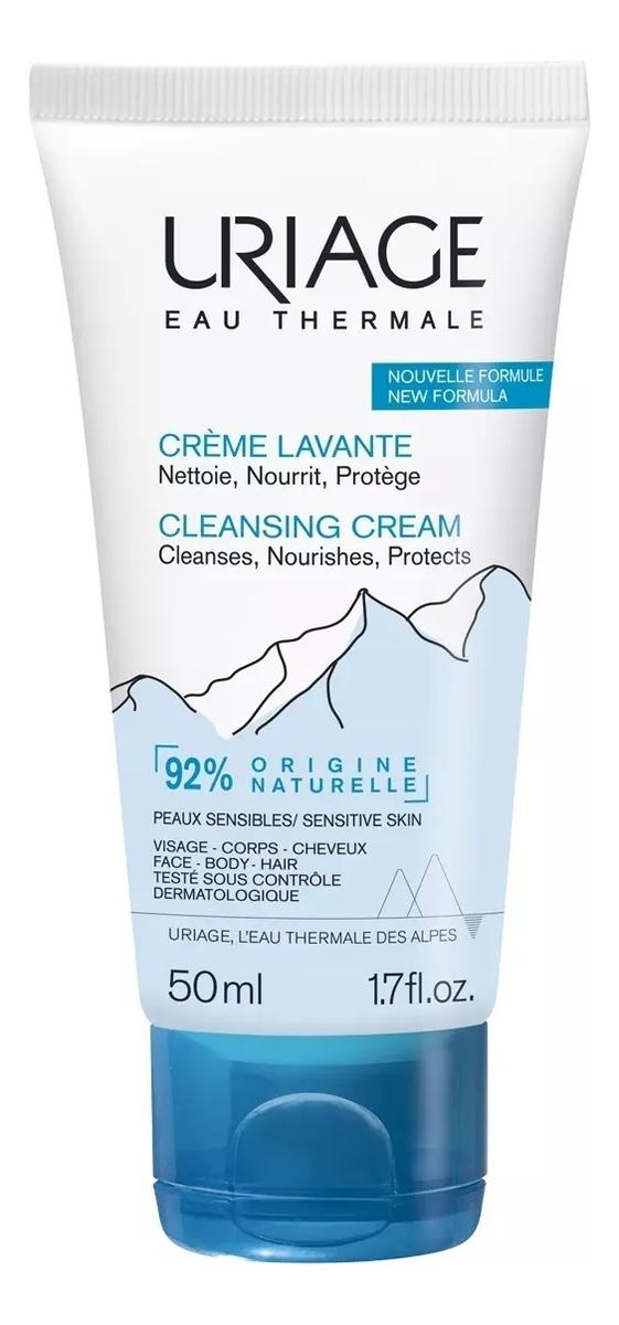 Очищающий пенящийся крем Eau Thermale Creme Lavante: Крем 50мл восстанавливающий питательный крем для лица eau thermale creme nutritive revitalisante 50мл