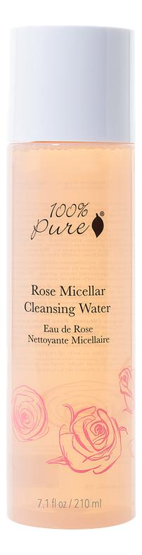 Очищающая мицеллярная вода для лица Rose Micellar Cleansing Water 210мл очищающая вода урьяж
