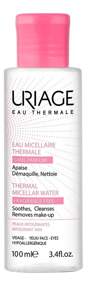Очищающая мицеллярная вода без ароматизаторов Eau Thermale Micellaire: Мицеллярная вода 100мл урьяж мицеллярная вода очищающая для кожи склонной к покраснению 250 мл uriage гигиена uriage