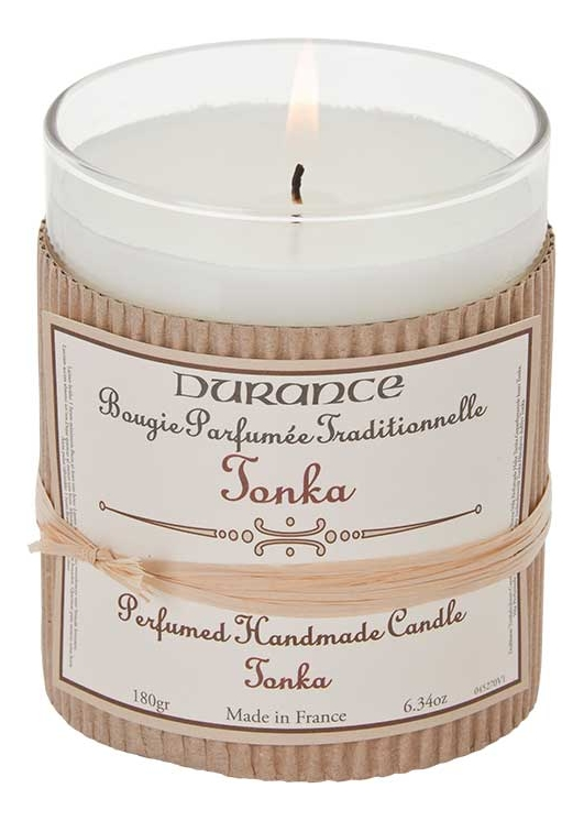Ароматическая свеча Perfumed Candle Tonka 180г ароматическая свеча perfumed candle cashmere wood 180г дерево кашемира