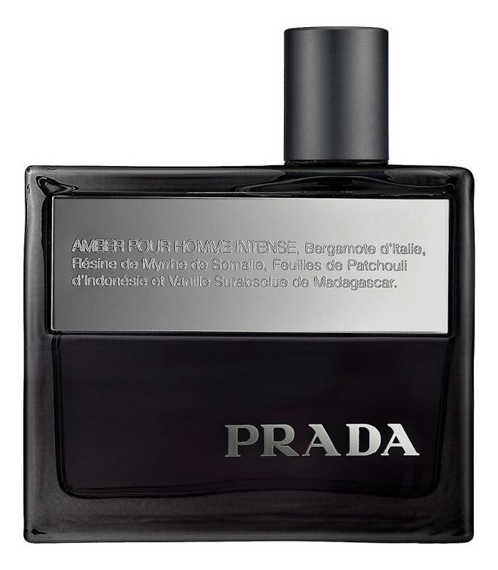 Prada Amber Pour Homme Intense: парфюмерная вода 50мл тестер prada prada intense туалетные духи тестер 50 мл
