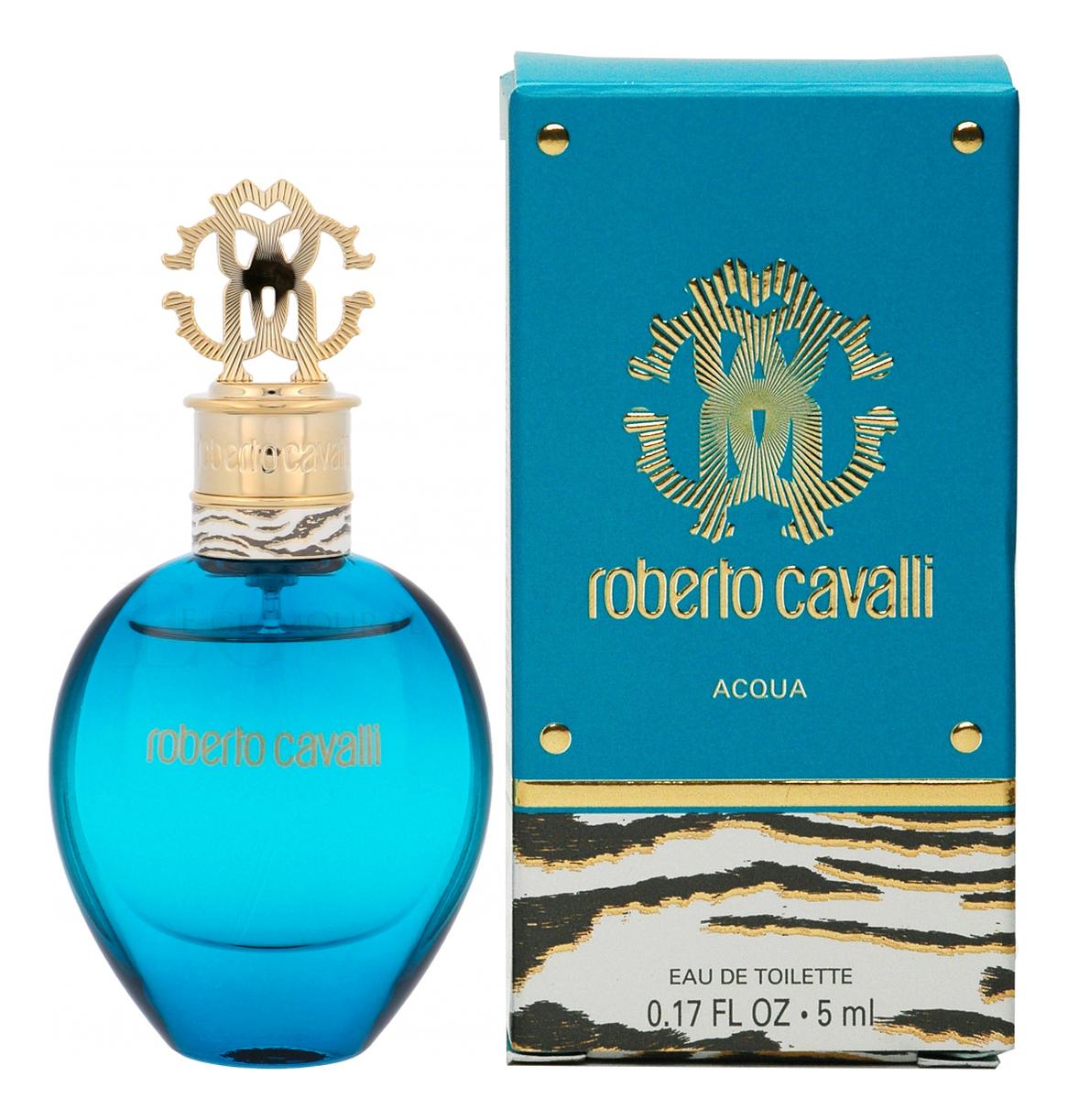 Roberto Cavalli Acqua: туалетная вода 5мл туника roberto cavalli